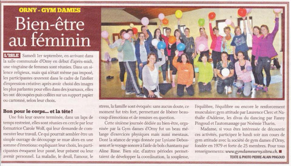 Article journée Wellness